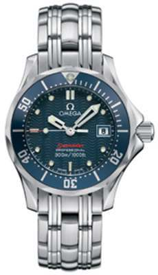 Omega Seamaster Ladies Steel Blue Dial Quartz 2224.80.00