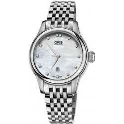 Oris Artelier Date, Diamonds 01 561 7687 4091-07 8 14 77