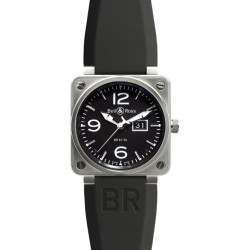 Bell & Ross BR 01-96 Grande Date Steel BR0196-BL-ST