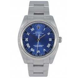 Rolex Oyster Perpetual Air-King Blue/Roman 114234