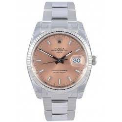 Rolex Date Pink/index Oyster 115234
