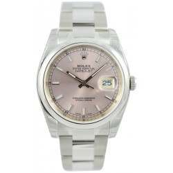 Rolex Datejust Pink/index Oyster 116200