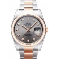 Rolex Datejust Steel/Diamond Oyster 116201