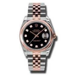Rolex Datejust Black/Diamond Jubilee 116201