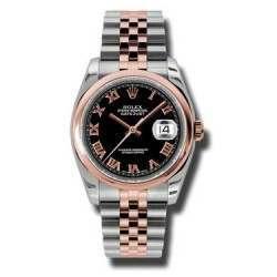 Rolex Datejust Black Roman Jubilee 116201