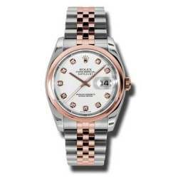 Rolex Datejust White/Diamond Jubilee 116201