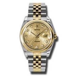Rolex Datejust Champagne Jub/Diamond Jubilee 116203