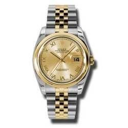 Rolex Datejust Champagne Roman Jubilee 116203