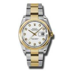 Rolex Datejust White/Diamond Oyster 116203