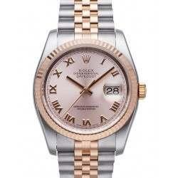 Rolex Datejust Pink Roman Jubilee 116231