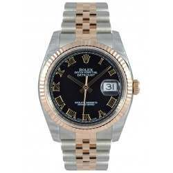 Rolex Datejust Black Roman Jubilee 116231