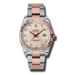 Rolex Datejust Pink/Diamond Oyster 116231