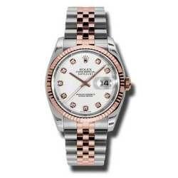 Rolex Datejust White/Diamond Jubilee 116231