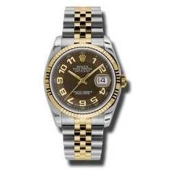 Rolex Datejust Bronze Arab Jubilee 116233