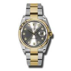 Rolex Datejust Steel/Diamond Oyster 116233