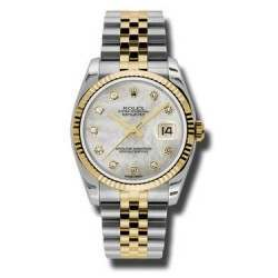 Rolex Datejust White mop/Diamond Jubilee 116233