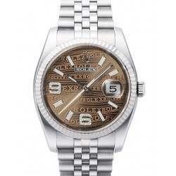 Rolex Datejust Bronze/Diamond Jubilee 116234