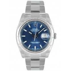 Rolex Datejust Blue/index Oyster 116234