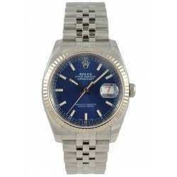 Rolex Datejust Blue/index Jubilee 116234