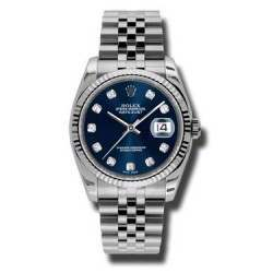 Rolex Datejust Blue/Diamond Jubilee 116234