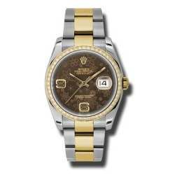 Rolex Datejust Bronze Arab Oyster 116243