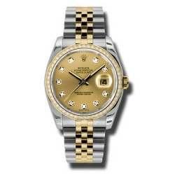 Rolex Datejust Champagne/Diamond Jubilee 116243