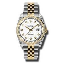 Rolex Datejust White/Diamond Jubilee 116243