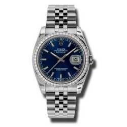Rolex Datejust Blue/index Jubilee 116244