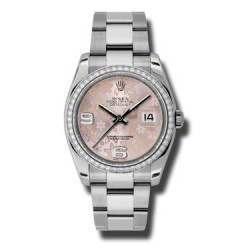 Rolex Datejust Pink Arab Oyster 116244