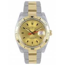 Rolex Turn o Graph Steel & Gold 116263