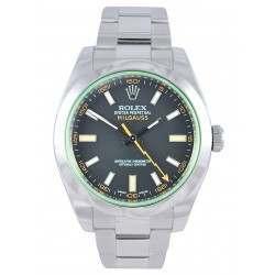 Rolex Milgauss Black Dial Green Glass 116400GV