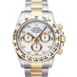 Rolex Cosmograph Daytona White/8 Diamond 116503