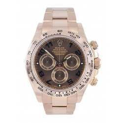 Rolex Daytona EverRose Chocolate Dial - Inc Rolex Warranty-116505