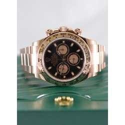 Rolex Cosmograph Daytona Everose Black-Pink/index 116505