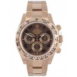 Rolex Cosmograph Daytona Chocolate/Arab Oyster 116505