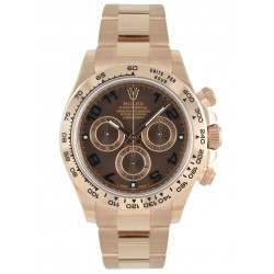 Rolex Cosmograph Daytona Chocolate/Arab Oyster 116505 No Stickers