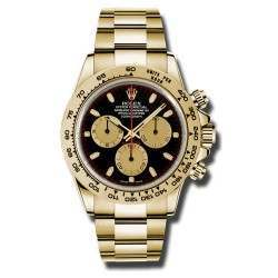 Rolex Cosmograph Daytona black/champagne Oyster 2016 116508