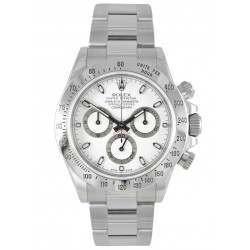 Rolex Cosmograph Daytona Steel White 116520