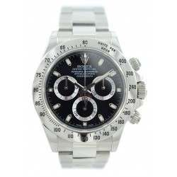 Mint Rolex Daytona 116520 Black dial w/Rolex Warranty!