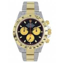 Rolex Cosmograph Daytona Steel&Gold Black-Champagne/index 116523