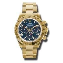 Rolex Cosmograph Daytona Blue Arab 116528