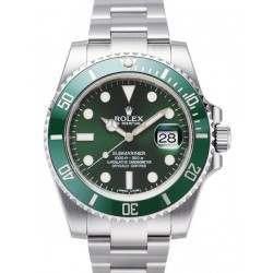 As New - Rolex Submariner Green - Rolex Warranty