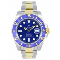 Rolex Submariner - 116613LB no stickers SunBurst