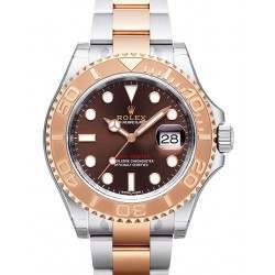 Rolex Yacht-Master 40mm Steel&Gold Chocolate/index Oyster 116621
