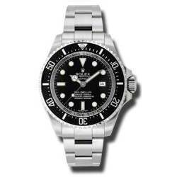 As New Rolex Sea-Dweller Deepsea 116660 - Sept 2014 Watch
