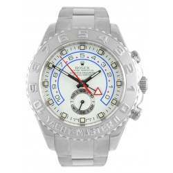 Rolex Yacht-Master II 44mm White/Hour Markers Oyster 116689