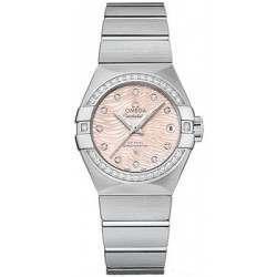 Omega Constellation Brushed Chronometer Automatic 123.15.27.20.57.002