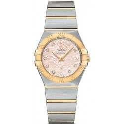 Omega Constellation Brushed (27mm) Quartz 123.20.27.60.57.005