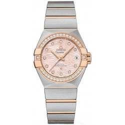 Omega Constellation Brushed Chronometer Automatic 123.25.27.20.57.004