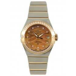 Omega Constellation Brushed Chronometer Pluma 123.25.27.20.57.003